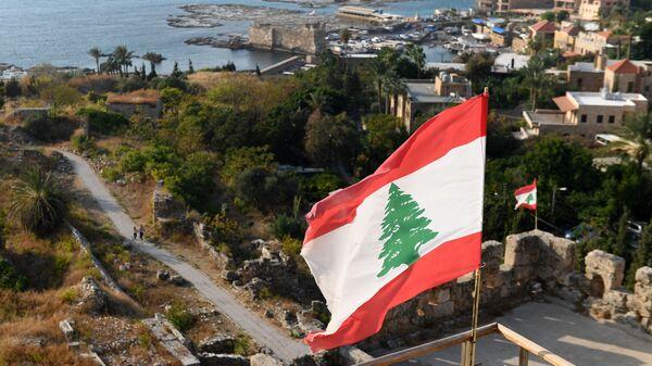 Drapeau libanais, image d'illustration  - Sputnik France