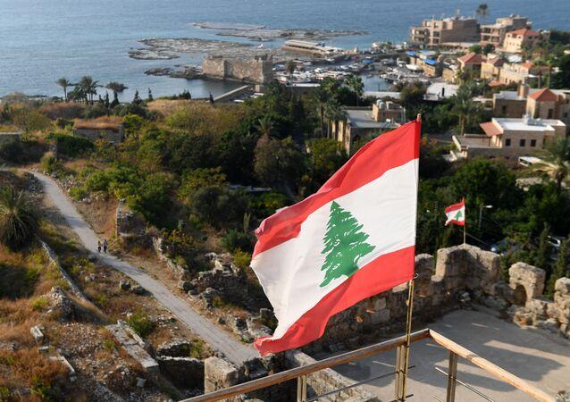Drapeau libanais, image d'illustration
