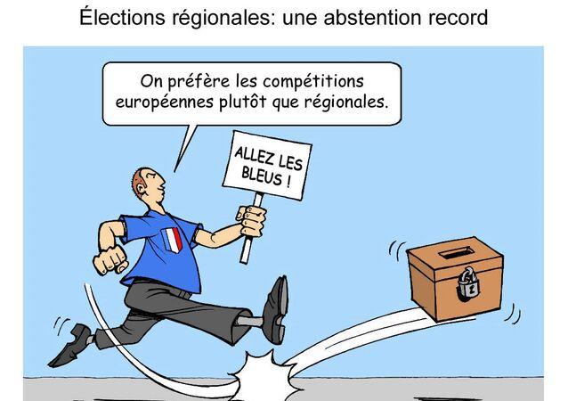 Élections régionales: une abstention record