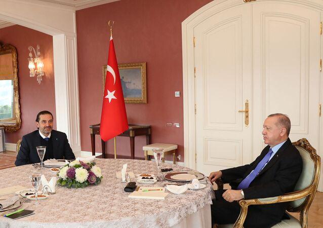 Erdogan reçoit Hariri