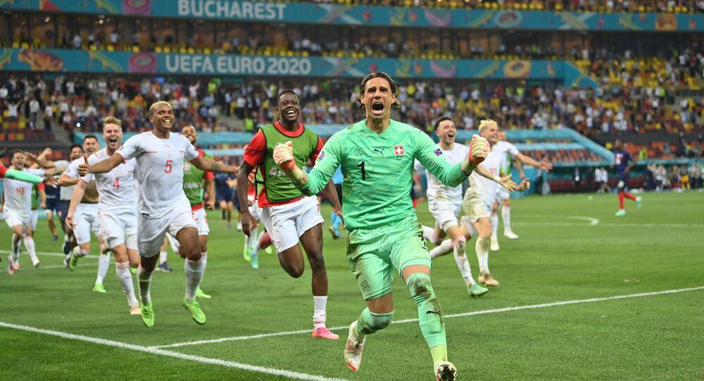 La Suisse s'impose face à la France, le 29 juin 2021