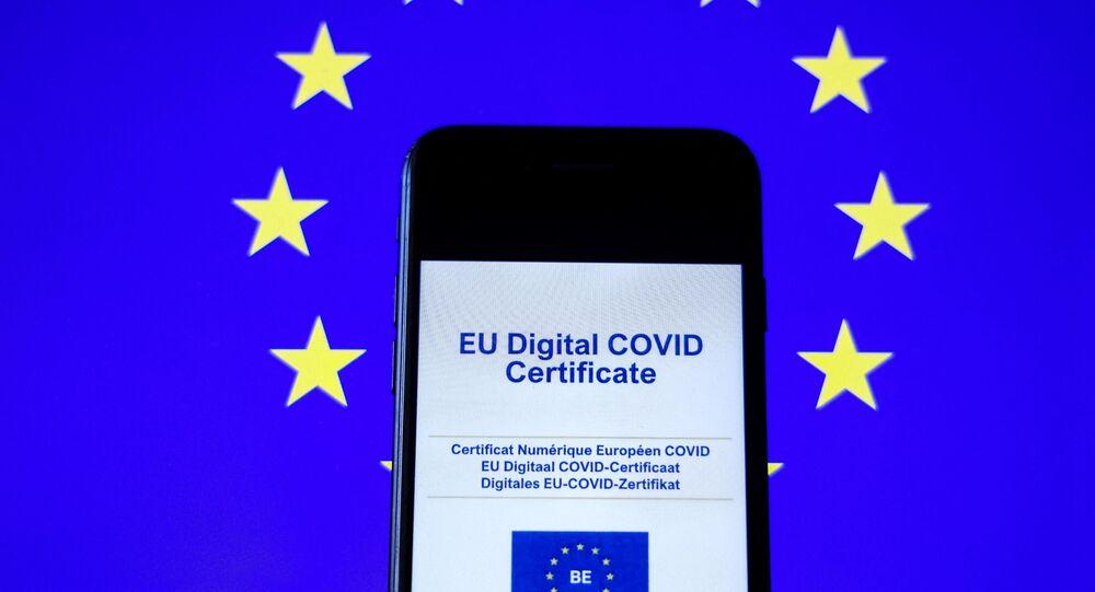 Certificat numérique européen
