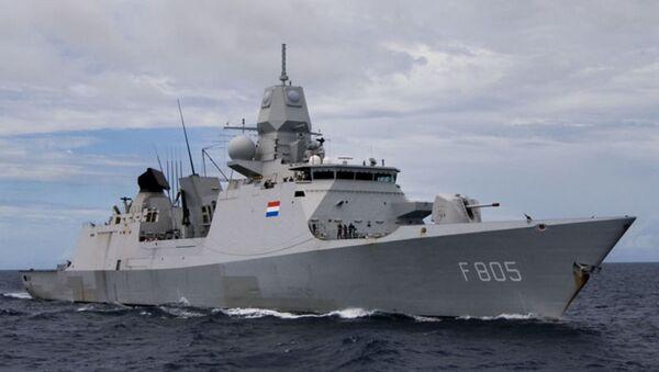 Frégate de la Marine Royale néerlandaise Evertsen - Sputnik France