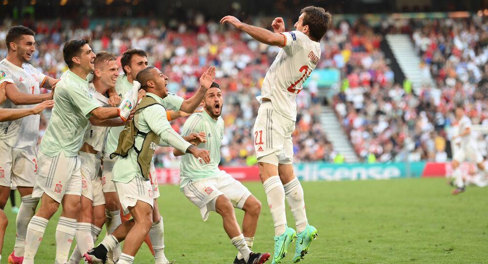 l'équipe espagnole