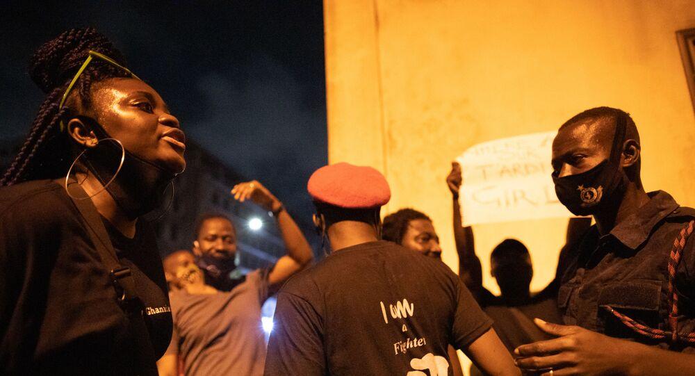 Des affrontements avec la police au Ghana en 2020