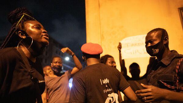 Des affrontements avec la police au Ghana - Sputnik France