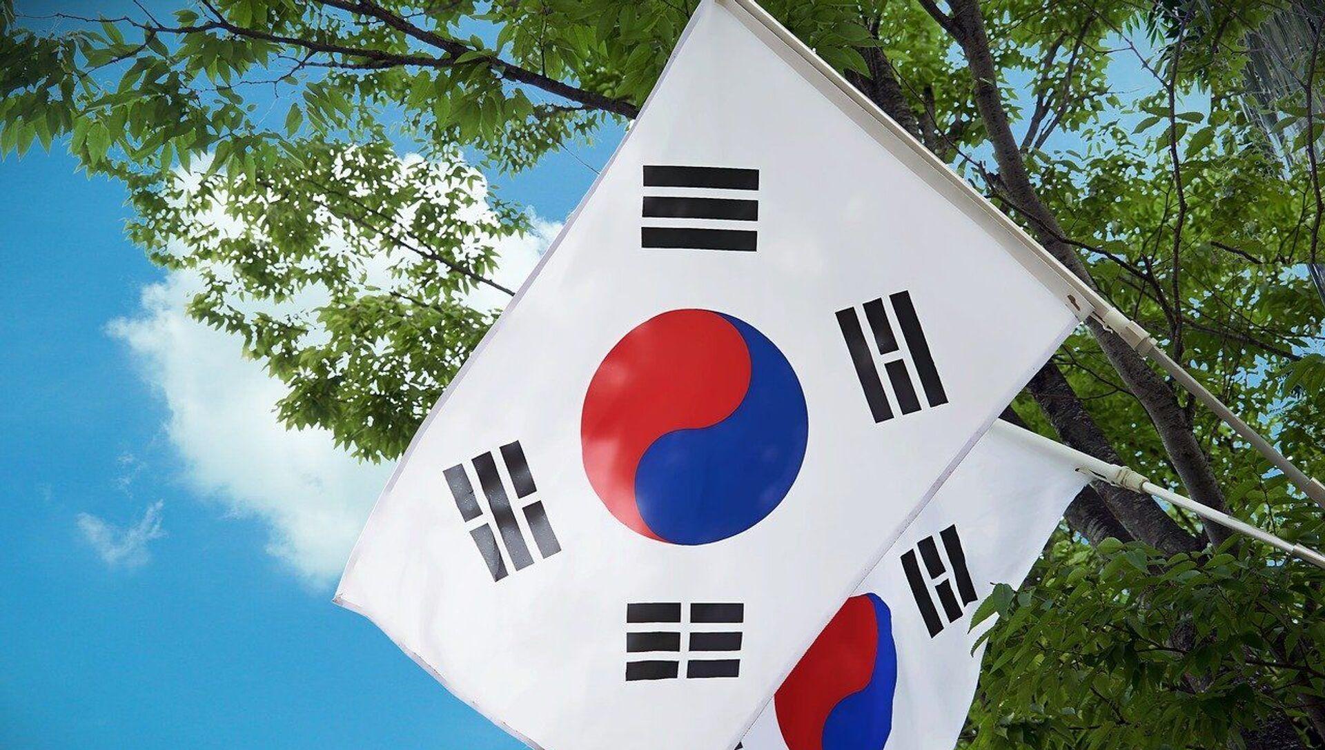 Drapeaux de la Corée du Sud - Sputnik France, 1920, 07.09.2021