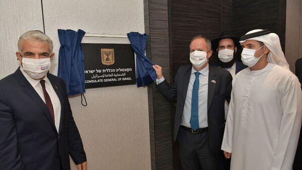 Cérémonie d'inauguration de l'ambassade israélienne aux Émirats arabes unis - Sputnik France