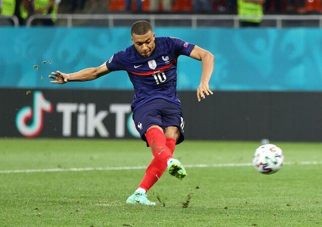Kylian Mbappé lors du match France-Suisse le 29 juin 2021