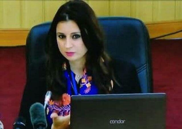 Dr Ryma Rouibi, enseignante- chercheuse à l'Ecole nationale de journalisme et des sciences de l'information d'Alger (ENSJSI)
