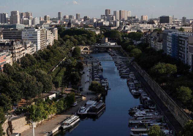 Le port de l'Arsenal, à Paris