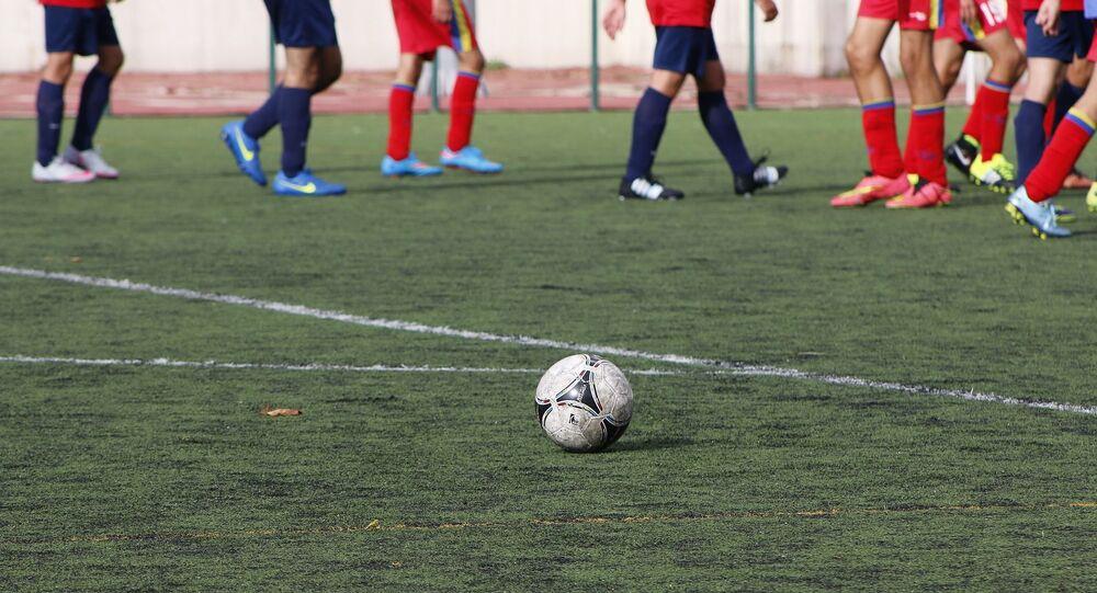 Des footballeurs (image d'illustration)