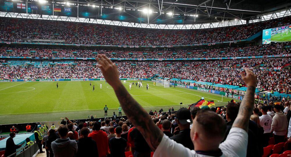 Allemagne vs. Angleterre en huitièmes de finale de l'Euro