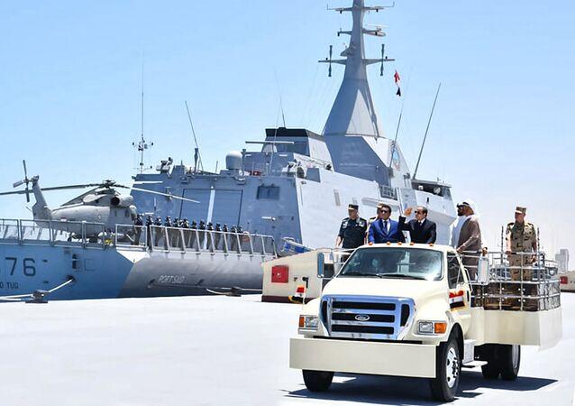 base navale Egypte