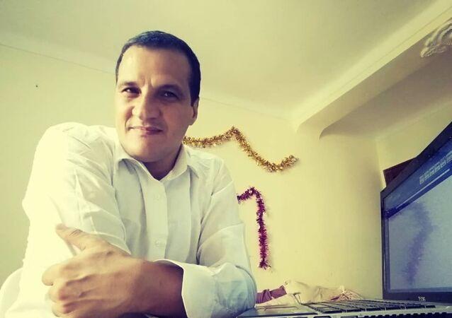 Le Dr Younes Benmahammed, enseignant-chercheur en linguistique française à l'universite de M'Sila