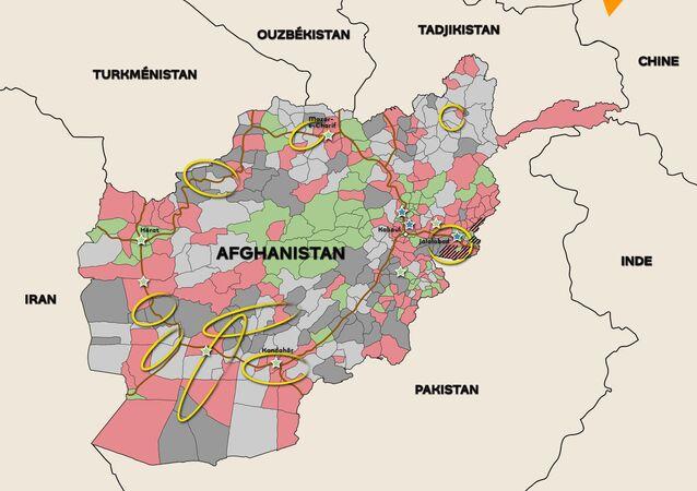 Afghanistan: profitant du retrait occidental, les talibans gagnent du terrain