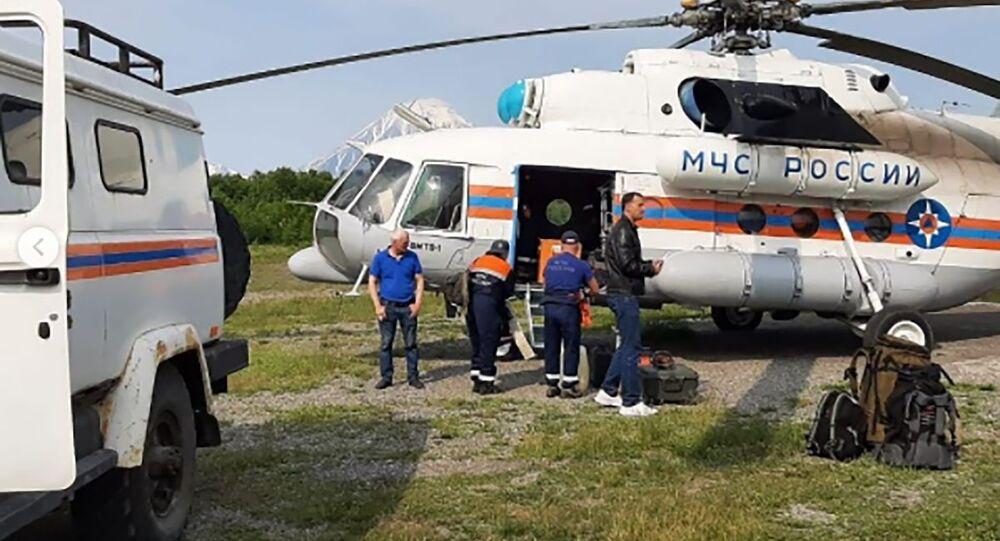 Crash d'un Antonov An-26 au Kamtchatka, 6 juillet 2021