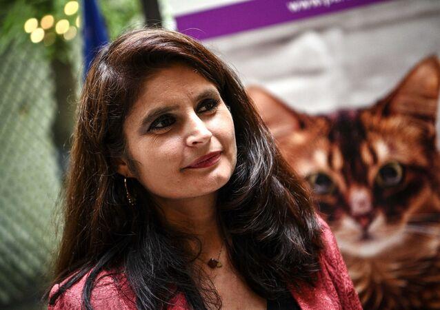 Hélène Thouy, co-présidente du Parti animaliste