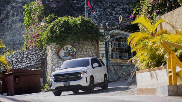 La police d'Haïti mène l'investigation après l'assassinat de  Jovenel Moïse, le 7 juillet - Sputnik France
