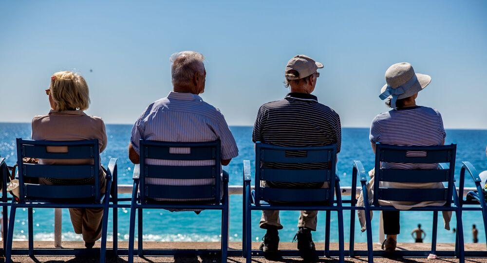 Des personnes âgées à Nice (archive photo)