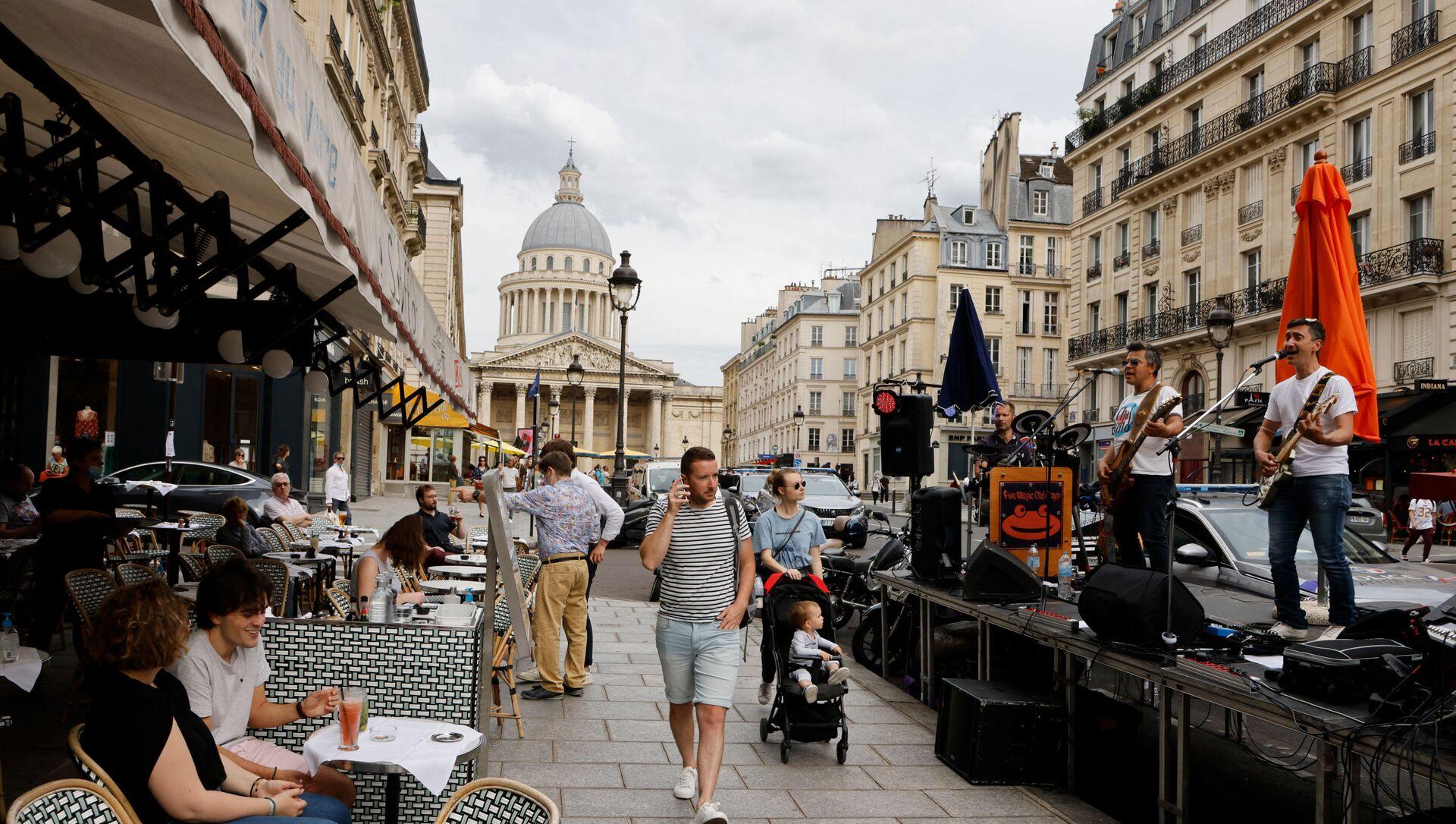 Rue Soufflot, à Paris, le 21 juin 2021 - Sputnik France, 1920, 23.07.2021
