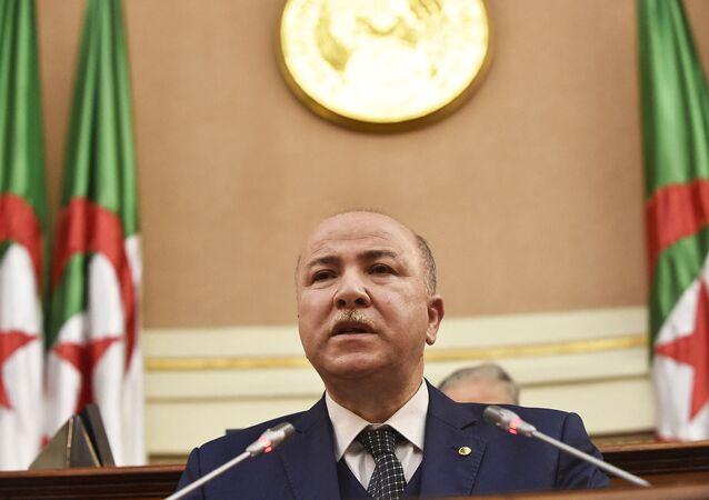 Aymen Benabderrahmane, photo d'archives