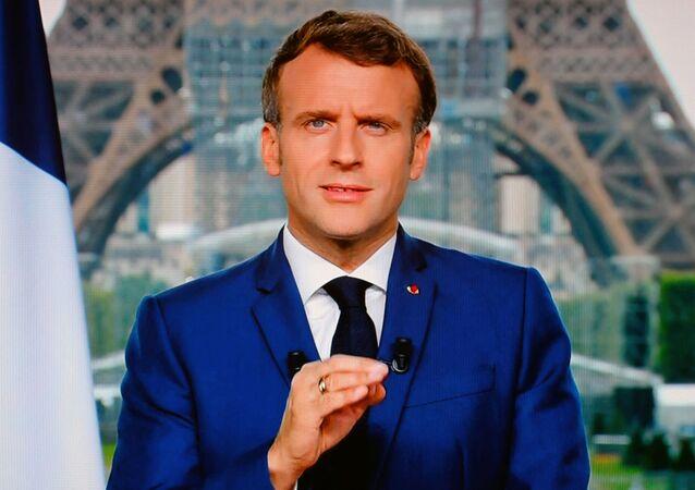 Macron s'adresse aux Français, le 12 juin 2021
