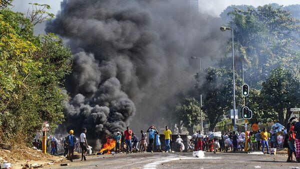 Les émeutes et les violences. Durban. Afrique du Sud. - Sputnik France