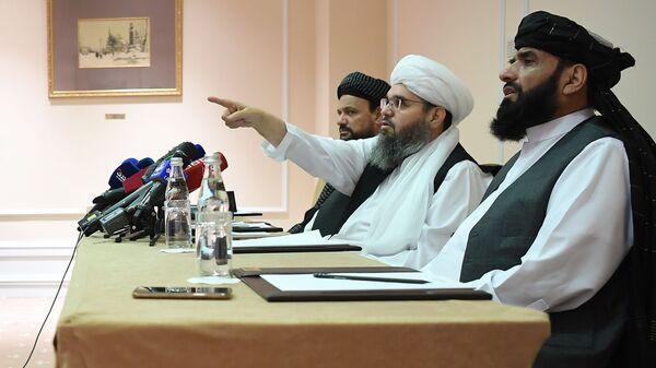 П/к делегации политического офиса движения Талибан (запрещено в РФ) в Москве - Sputnik France