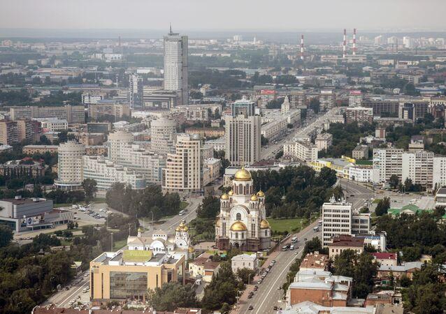 Ekaterinbourg, Russie