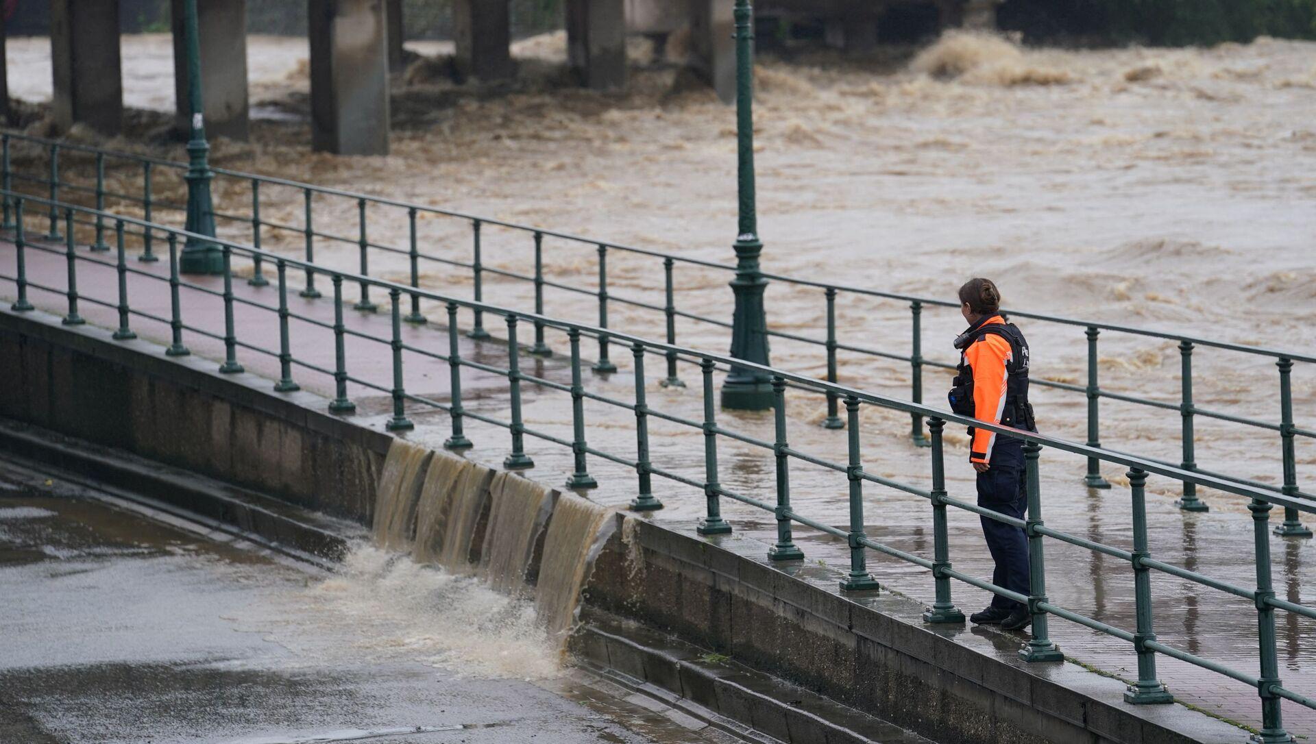 Inondations à Liège, Belgique, le 15 juillet - Sputnik France, 1920, 12.08.2021
