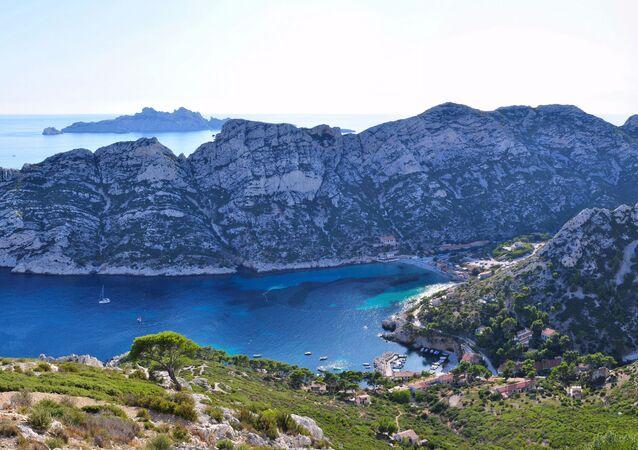 Calanque de Sormiou près de Marseille