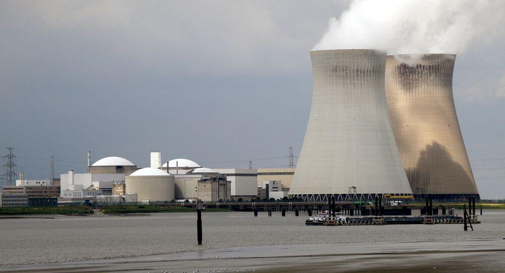 Centrale nucléaire de Doel en Belgique