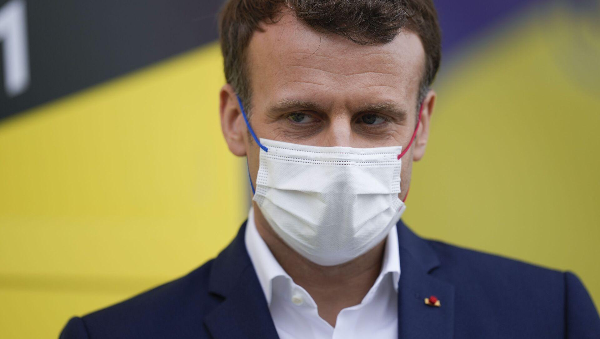Emmanuel Macron - Sputnik France, 1920, 26.08.2021