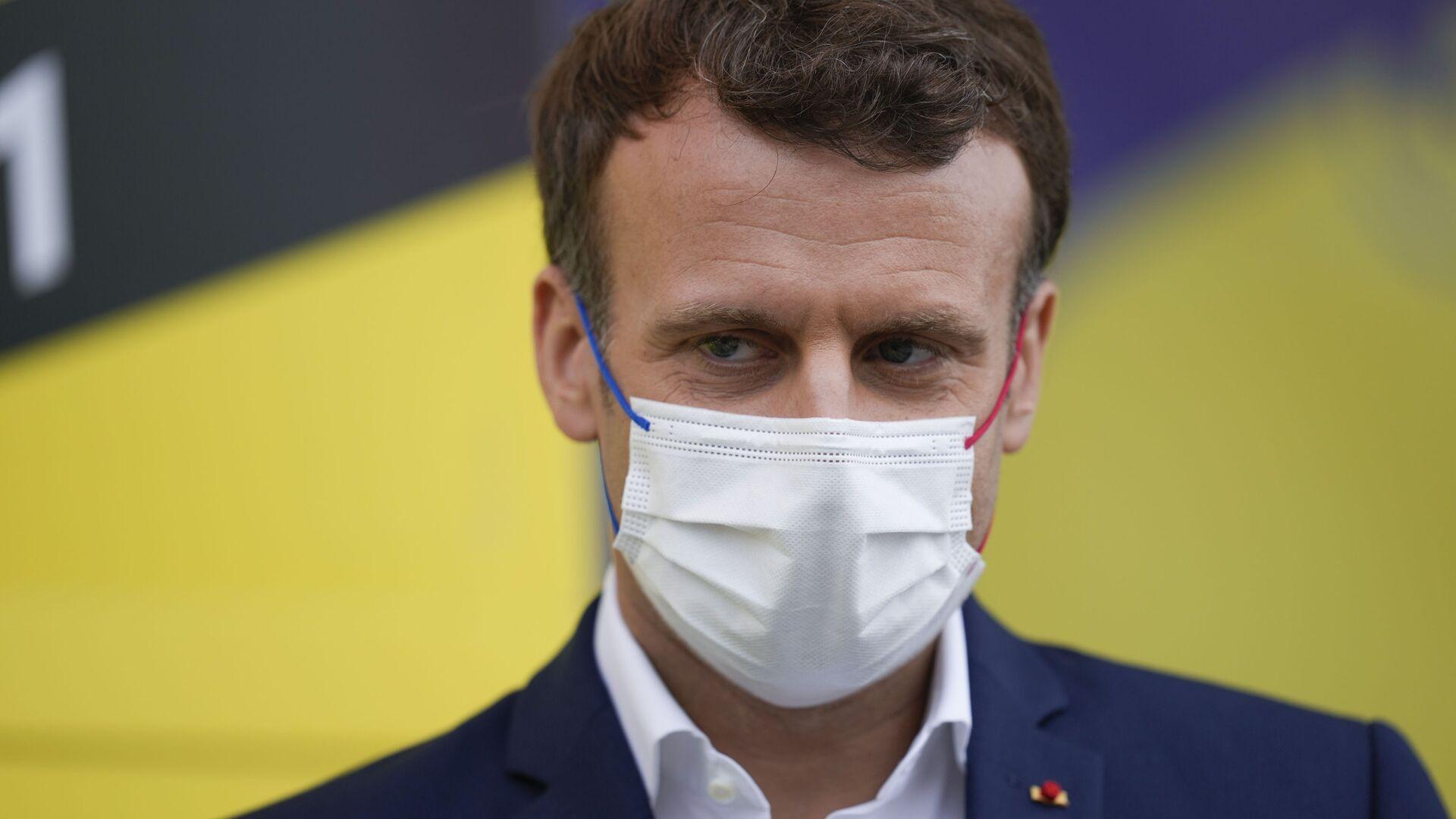 Emmanuel Macron - Sputnik France, 1920, 03.08.2021