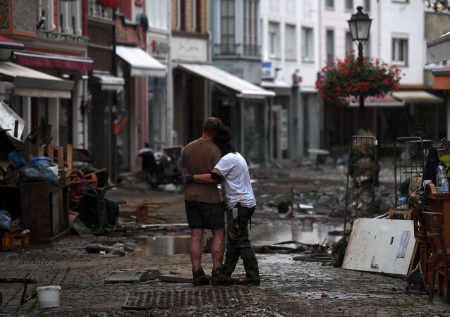 Inondations catastrophiques en Allemagne