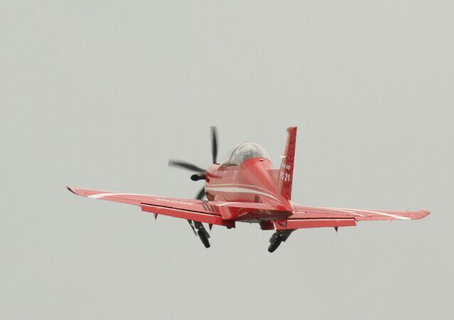 Un Pilatus PC-21 (archive photo)