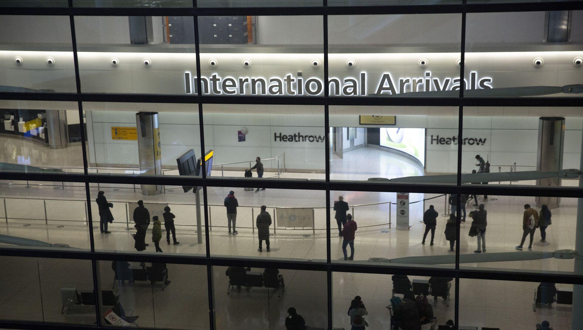 Aéroport d'Heathrow à Londres - Sputnik France, 1920, 11.08.2021