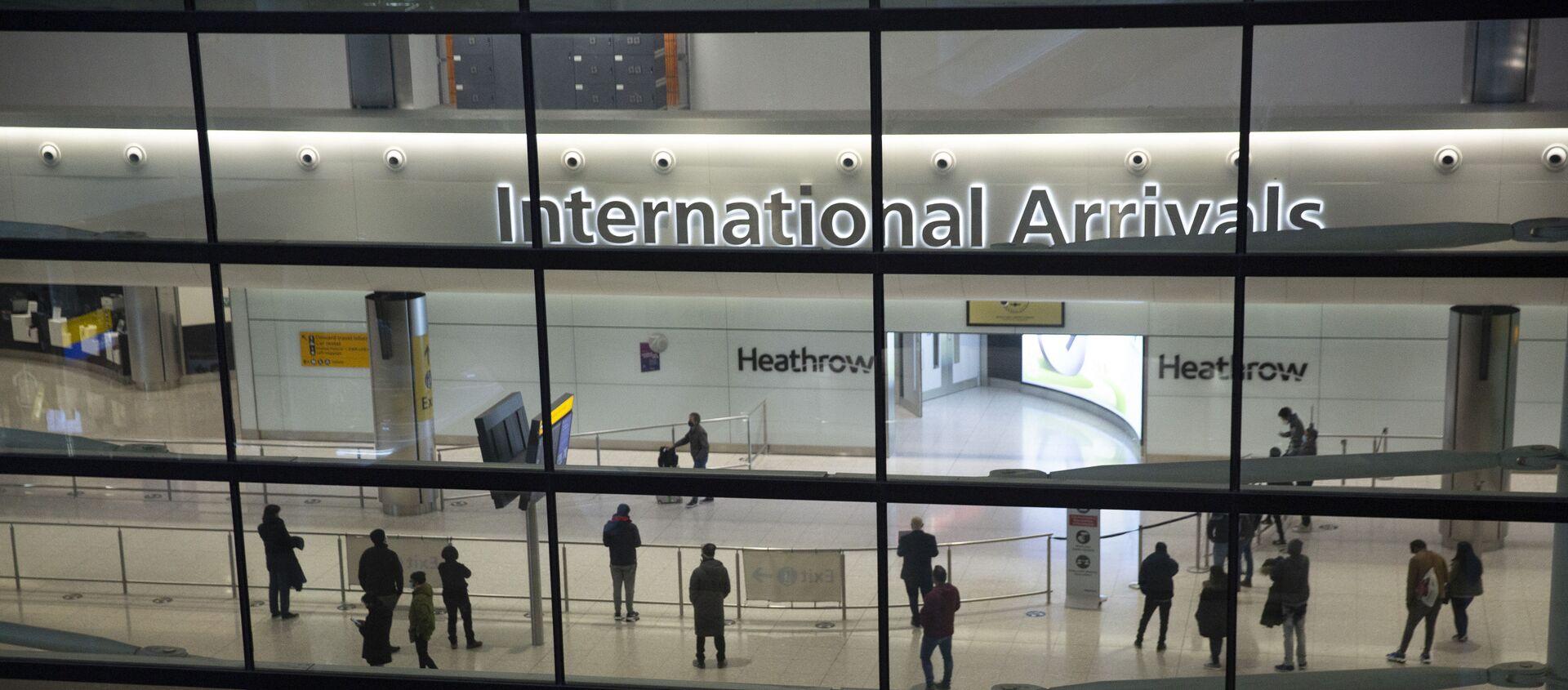 Aéroport d'Heathrow à Londres - Sputnik France, 1920, 17.07.2021