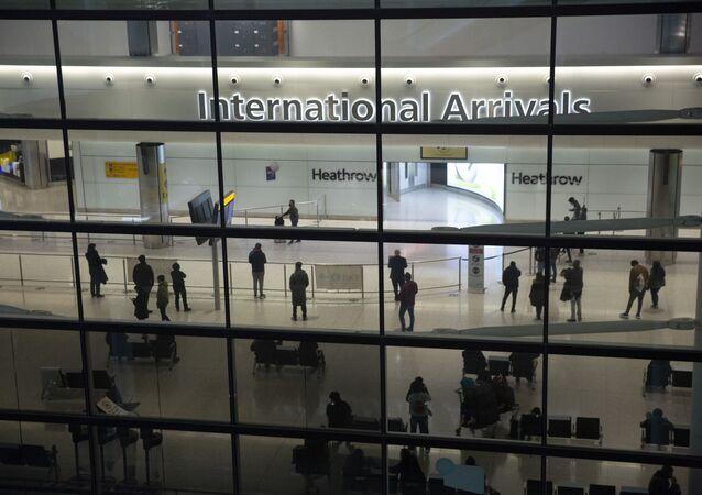 Aéroport d'Heathrow à Londres