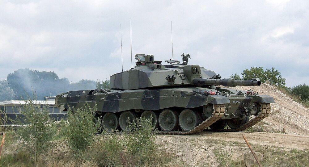 Un char Challenger II