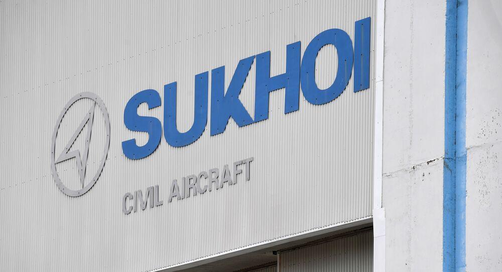 Logo de Sukhoi