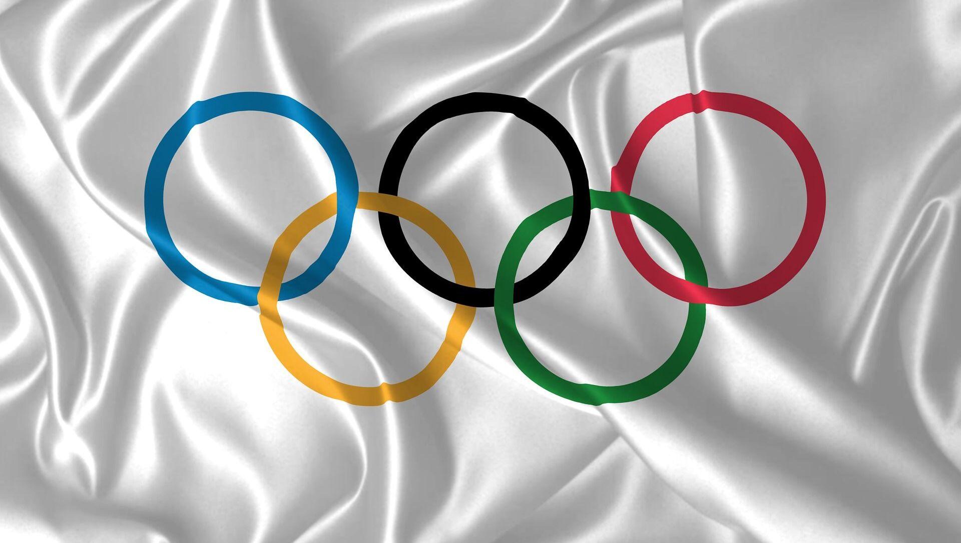 Le drapeau des Jeux olympiques - Sputnik France, 1920, 30.07.2021