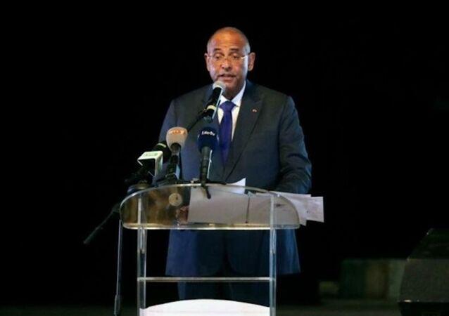 Le Premier ministre ivoirien Patrick Achi lors lancement des EGEA