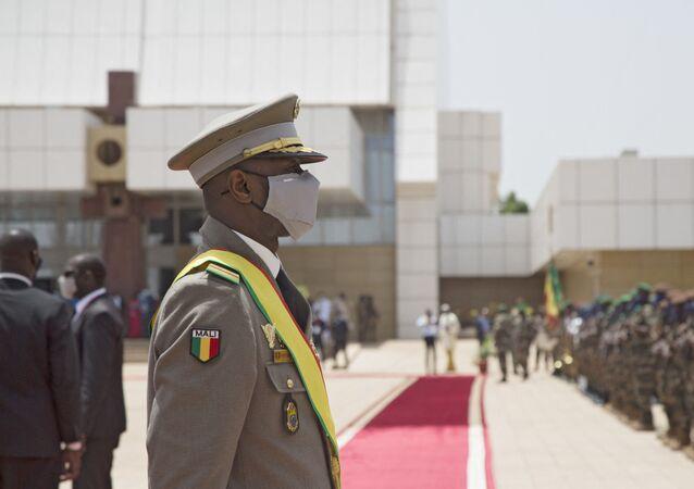 Le Président malien de transition, le colonel Assimi Goïta