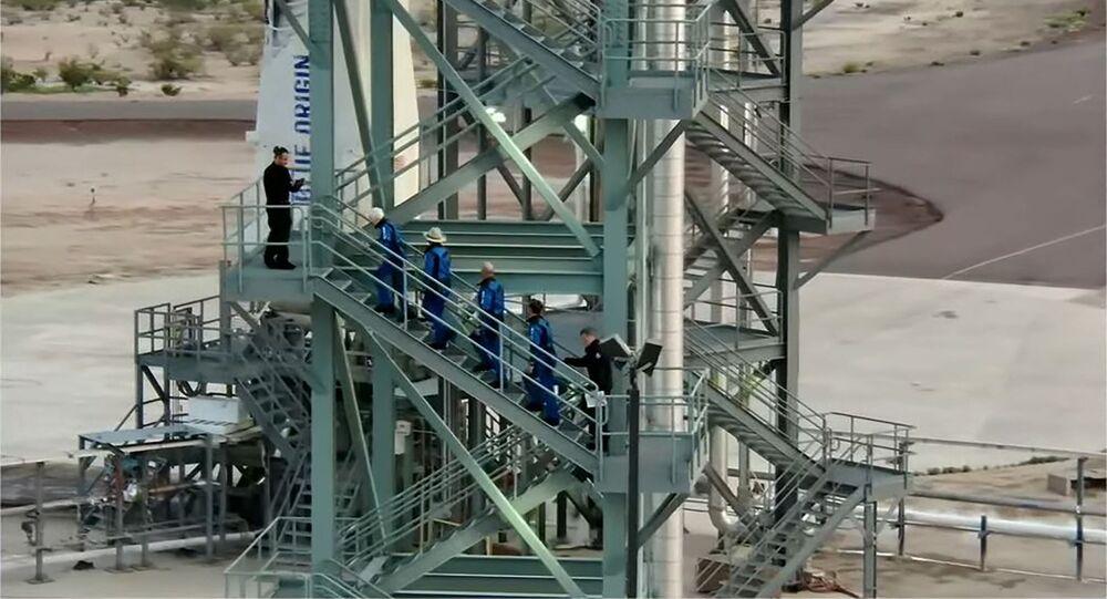 Jeff Bezos s'apprête à voler dans l'espace à bord du New Shepard