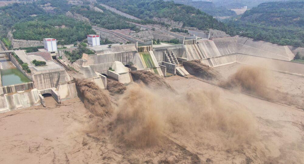 Barrage à Luoyang