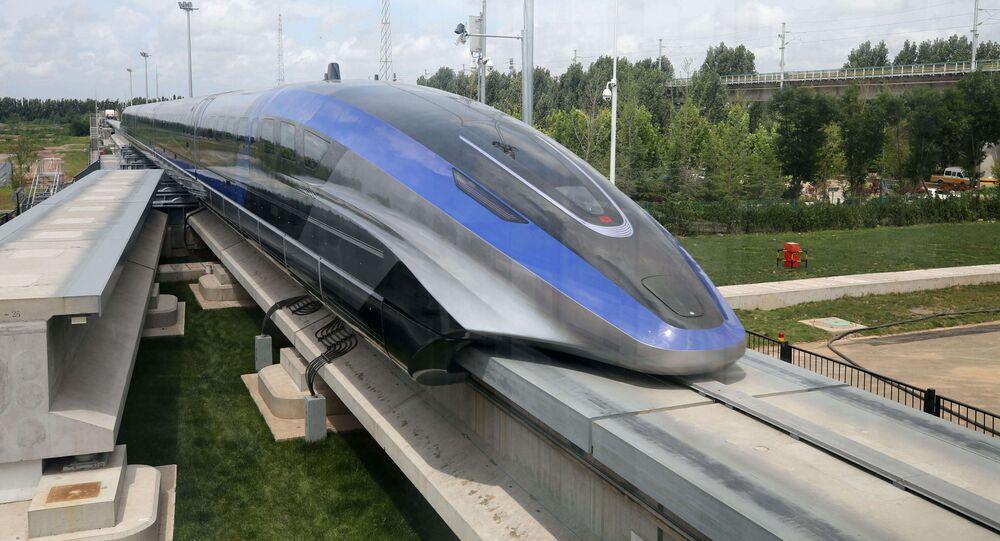 Le train Maglev, le 20 juillet 2021