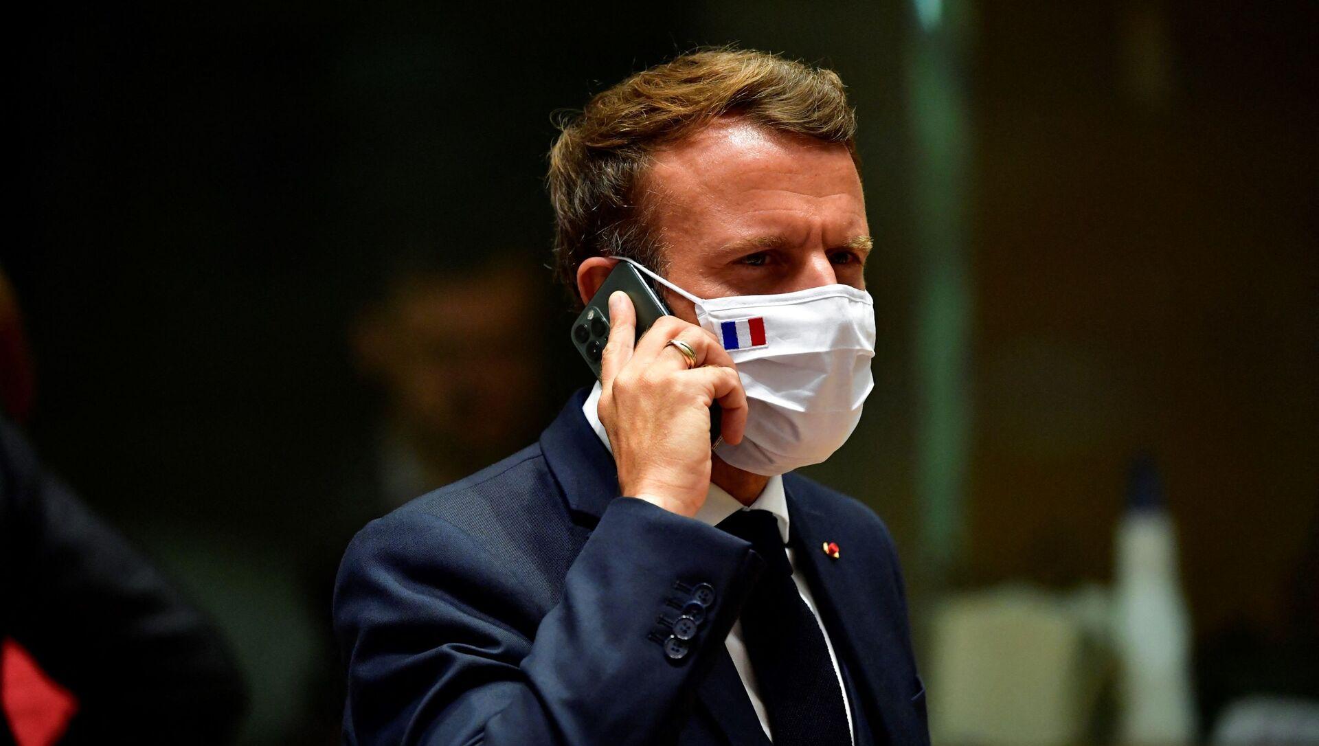 Emmanuel Macron - Sputnik France, 1920, 04.08.2021