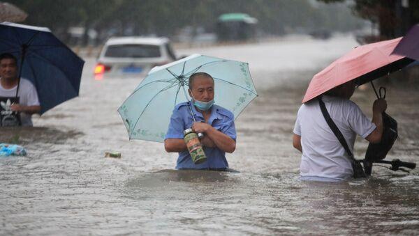 Inondation en Chine.  - Sputnik France